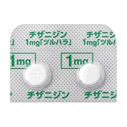 副作用 チザニジン